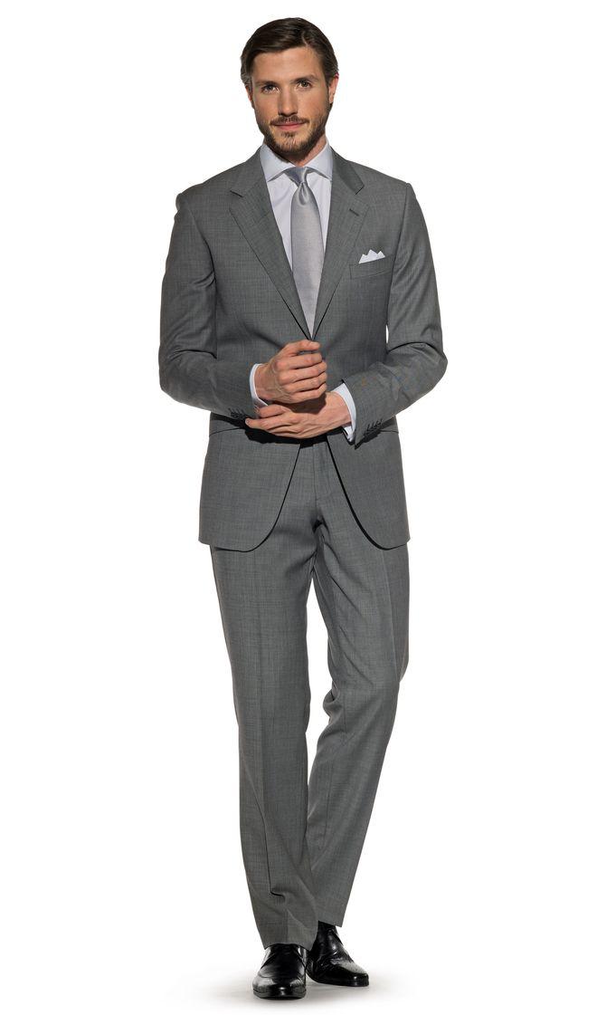 TML Wentworth Sharkskin grey suit